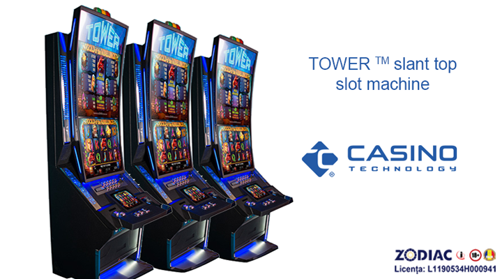 Noua linie de aparate TOWER ™ - CASINO TECHNOLOGY